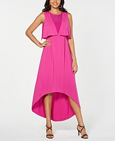 Popover Cape Maxi Dress, Created for Macy's
