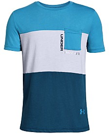 Under Armour Big Boys Colorblocked T-Shirt