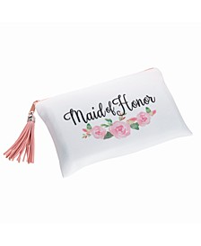 Floral Maid of Honor Survival Bag