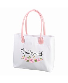 Lillian Rose Floral Bridesmaid Tote Bag