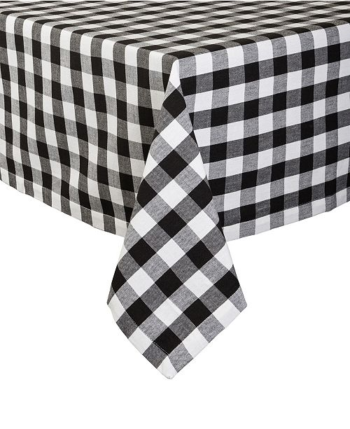 """Design Import Checkers Tablecloth 52"""" x 52"""""""