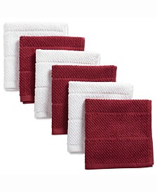 Assorted Barn Basic Chef Terry Dishcloth, Set of 6