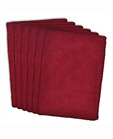 Essential Microfiber Dishtowel, Set of 6