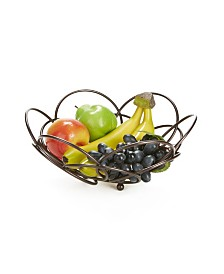 Mind Reader Fruit Bowl Modern Stainless Steel