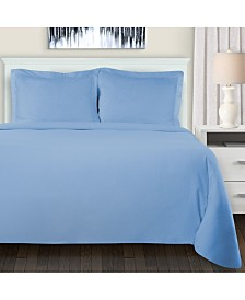 Superior Flannel Cotton Duvet Cover Set - Twin