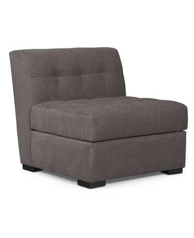 Roxanne Fabric Armless Living Room Chair Created For Macys