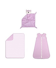 Baby Unisex Sleep Gift Set, 3-Piece