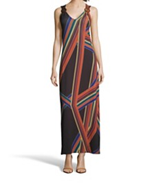 John Paul Richard Printed Maxi Dress