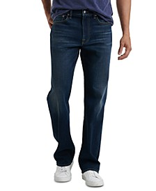 Men's 181 Relaxed Straight Fit Stretch COOLMAX® Temperature-Regulating Jeans