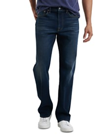 Lucky Brand Men's 181 Relaxed-Straight Fit Stretch COOLMAX® Temperature-Regulating Jeans