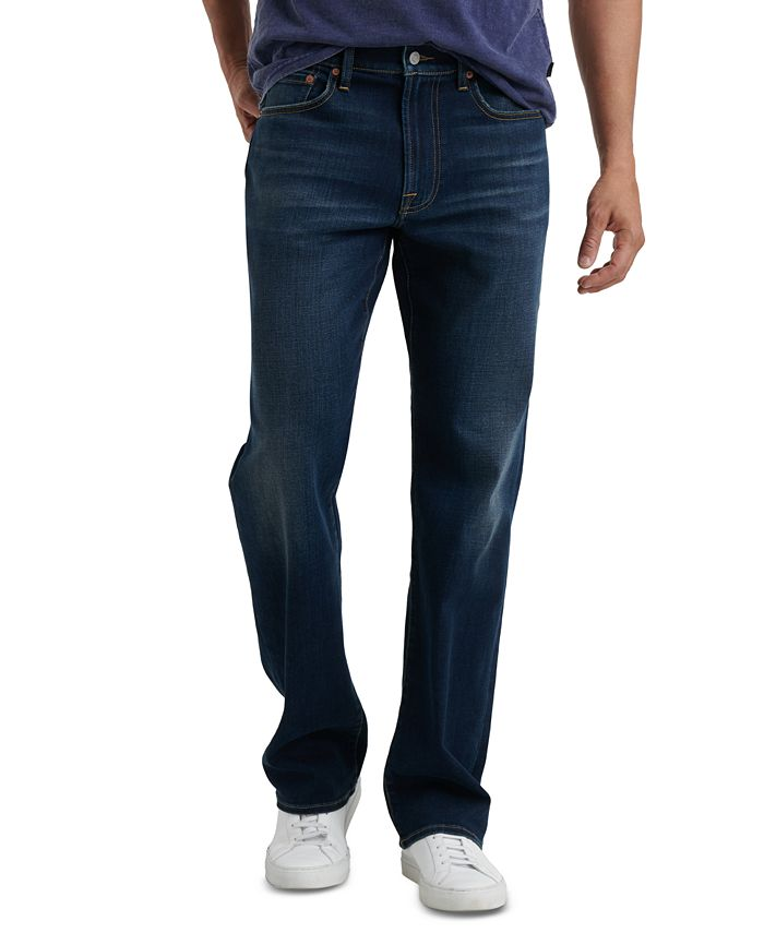 Lucky Brand - Men's 181 Relaxed-Straight Fit Stretch COOLMAX® Temperature-Regulating Jeans