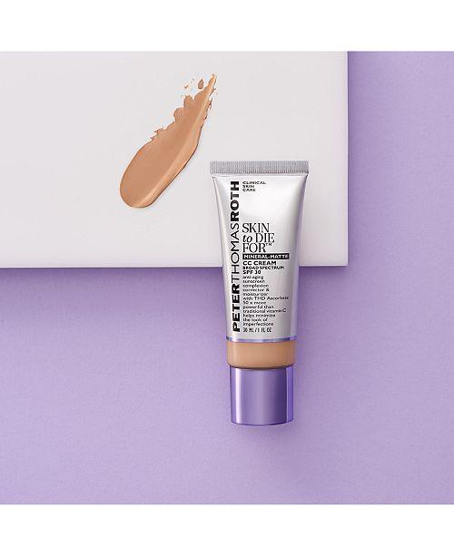 Skin To Die For Mineral-Matte CC Cream SPF 30, 1 fl  oz