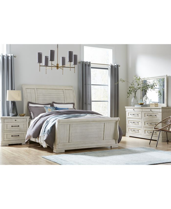 Furniture Trisha Yearwood Coming Home Queen Sleigh Bed  & Reviews - Furniture - Macy's