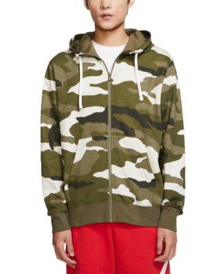 Men's Sportswear Club Fleece Camo Zip Hoodie