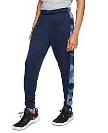 Men's Dri-FIT Camo-Trim Fleece Tapered Pants