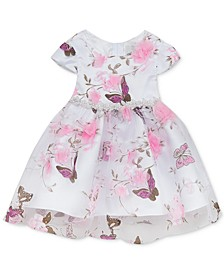 Baby Girls Printed Organza Dress