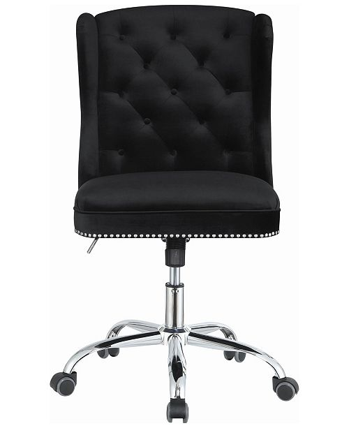 Coaster Home Furnishings Upholstered Swivel Office Chair