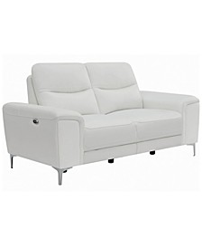 Coaster Home Furnishings Largo Upholstered Power Loveseat