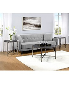 Picket House Furnishings Simone 3 Piece Occasional Table Set
