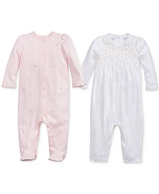 Polo Ralph Lauren Baby Girls Coming Up Roses Collection