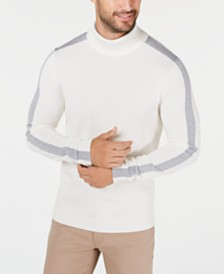 Alfani Men's Colorblocked Turtleneck, Created for Macy's