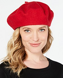 INC Solid Beret, Created for Macy's