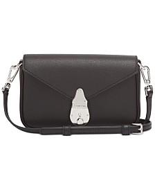 Calvin Klein Lock Leather Crossbody