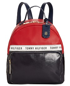 Tommy Hilfiger Julia Coated Canvas Dome Backpack