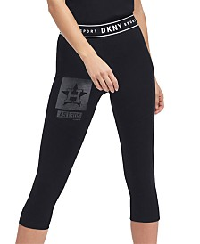 DKNY Women's Houston Astros Capri Leggings