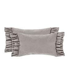Emily Alloy Boudoir Decorative Throw Pillow