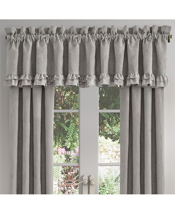 Piper & Wright Emily Alloy Window Straight Valance