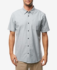 O'Neill Men's Theodore Stripe Short Sleeve Woven