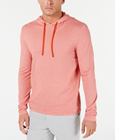 Michael Kors Men's Birdseye Weave Hoodie T-Shirt