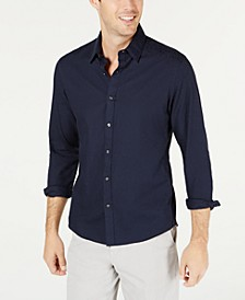 Men's Slim-Fit Stretch MK Logo Shirt