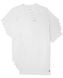 Men's 5-Pk. Cotton Classics V-Neck Undershirts