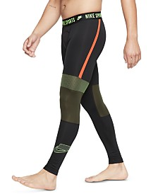 Nike Men's Pro Colorblocked Compression Leggings