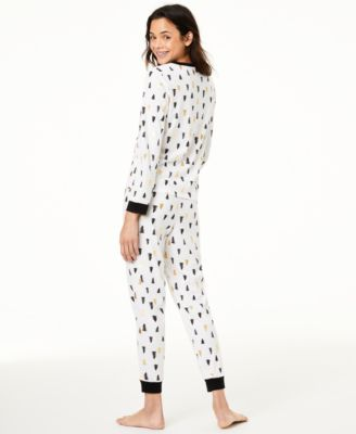 Matching Kids Tree-Print Pajama Set, Created For Macy's