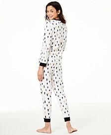 Matching Kids Tree-Print Pajama Set, Created For Macy's
