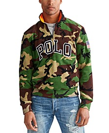 Men's Polar Fleece Camo Knit Sweatshirt
