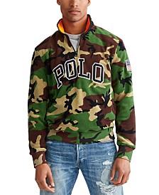 Polo Ralph Lauren Men's Polar Fleece Camo Knit Sweatshirt