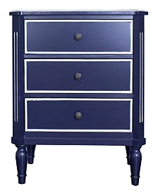 Heather Ann Tracy 3-Drawer Accent Cabinet
