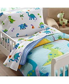 Wildkin's Dinosaur Land Toddler Sheet Set