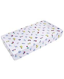 on the Go Fitted Crib Sheet
