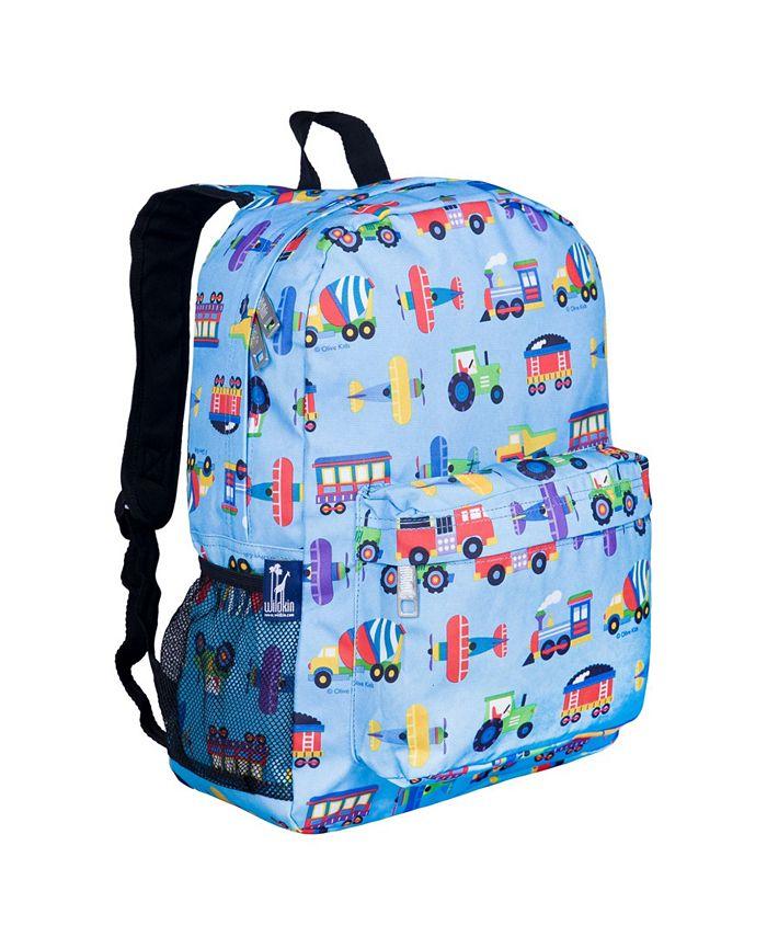 Wildkin - Trains, Planes, Trucks 16 Inch Backpack