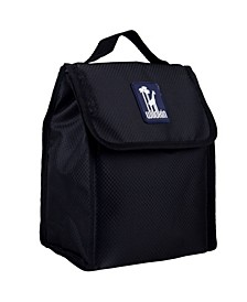 Rip-Stop Black Lunch Bag