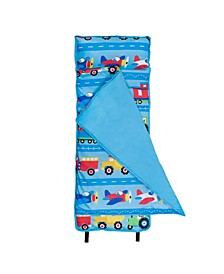 Trains, Planes and Trucks Microfiber Nap Mat