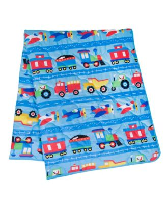 Trains, Planes and Trucks 7 Pc Bed in a Bag -Full