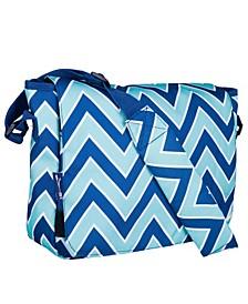 Zigzag Lucite Messenger Bag