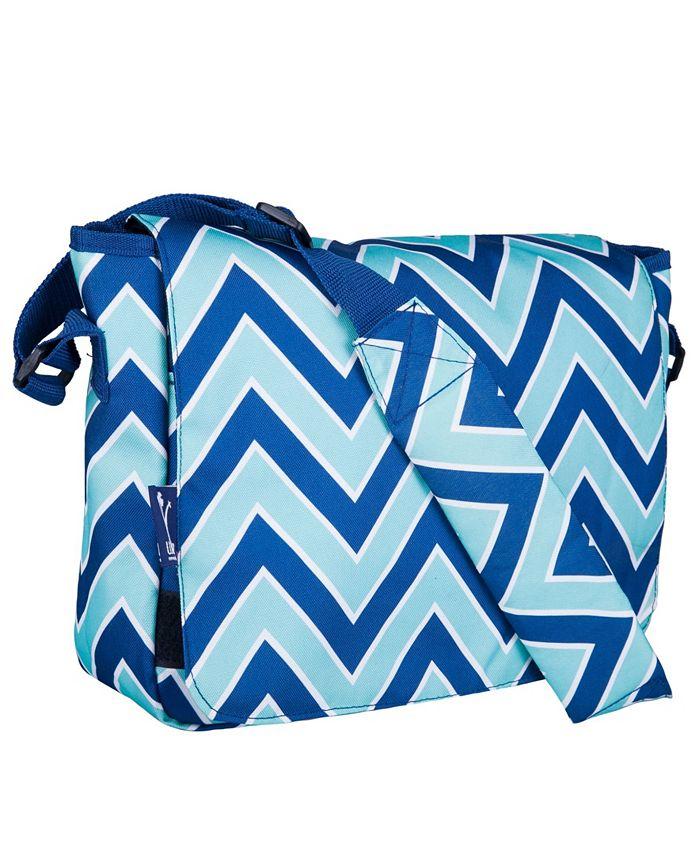 Wildkin - Zigzag Lucite 13 Inch x 10 Inch Messenger Bag