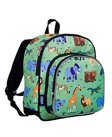 "Wild Animals 12"" Backpack"